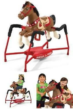 Radio Flyer, Blaze Interactive Spring Horse, Ride-on with So