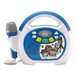Paw Patrol Bluetooth Sing Along Portable MP3 Player Real Wor