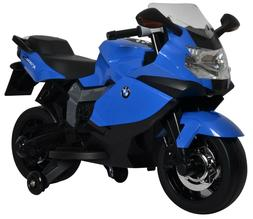 BMW 12V Kids Ride On Motorcycle - Licensed K1300S Model in B
