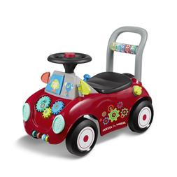 Radio Flyer, Busy Buggy, Ride-on and Push Walker, Multi-colo