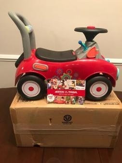 Radio Flyer, Busy Buggy, Ride-On and Push Walker, Red
