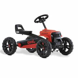 BERG Toys Buzzy Rubicon Pedal Powered Go-Kart for Kids Ride