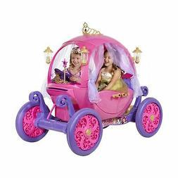Disney Princess Carriage Fancy Ride On Car Toy Child Electri