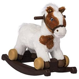 Rockin' Rider Carrot 2-in-1 Pony Plush Ride-On, Painted
