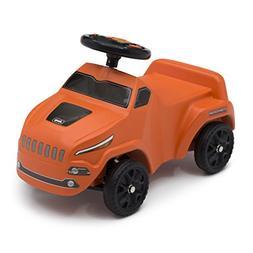 Jeep Cherokee Ride On Push Car, Orange