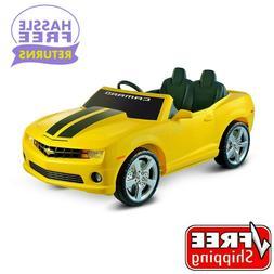 Avigo Chevrolet Camaro 12 Volt Ride On - Yellow with Black S