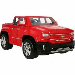 Rollplay 12 Volt Chevy Silverado Truck Ride On Toy, Battery-