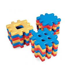 Little Tikes Classic Big Waffle Block Set - 18 Pieces