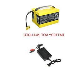 24V clip Charger Power Cord for Peg Perego Polaris Ranger RZ