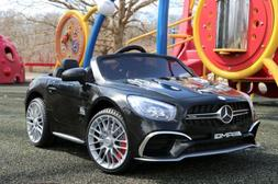 Closeout-Mercedes Benz SLK 12V  Kids Electric Ride-On Car wi