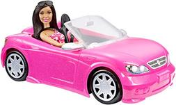 Barbie Convertible and Doll Pack, Dark Hair