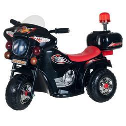 Cop Motorcycle For Kids Trike Big Kid Boys Girls Ride On Toy