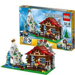 LEGO CREATOR 3-in-1 Mountain Hut 550 Piece Kids Building Pla