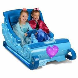 Disn FROZEN SLEIGH Girls Ride On Sleigh Electric 5mph 12Volt
