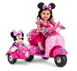 Disney Minnie Mouse Happy Helpers Scooter with Sidecar Ride-
