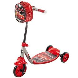 Huffy Disney Pixar Cars 3 Boys 3-Wheel Preschool Scooter