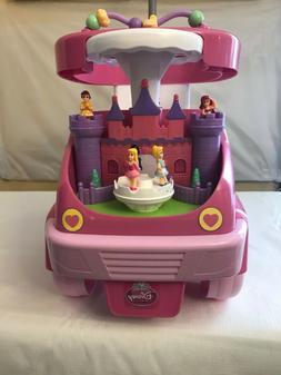 Kiddieland Disney Princess 4-in-1 Rock n' Ride Activity Ride