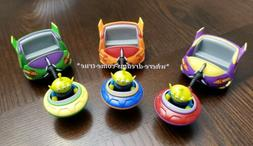 Disney World Toy Story Land Alien Swirling Saucers Ride Pull Toy Yellow Green