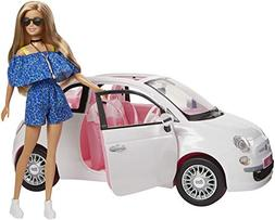 Barbie Doll Car Fiat Multi-Coloured