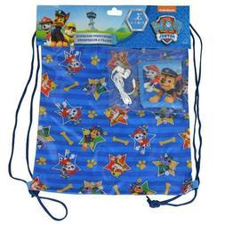 Paw Patrol Drawstring Book Backpack