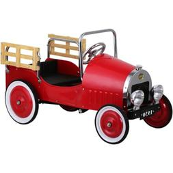 Dexton DX-20046 Red Retro Pickup Truck Pedal Car NEW