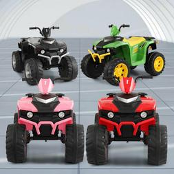 Electric 12 Volt Kids Ride On ATV Cars Battery Powered Toy C