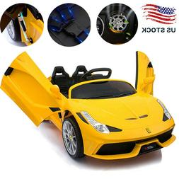 Electric 12V Children Kids Toy Ride on Car Battery Cool Powe