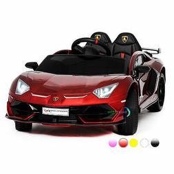 Electric Car Lamborghini 12V Ride On Toy For Kid Remote Cont