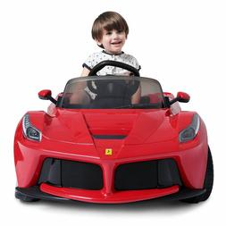 Electric Cars For Kids Ride On Ferrari Sports Motorized Vehi