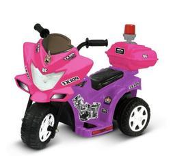 Electric Girls Mortorcycle 3 Wheeler Baby Toddler Battery 6V