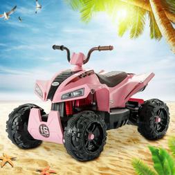 Electric Kids Ride On ATV Car 12V Quad 4 Wheeler Toy w/MP3 F