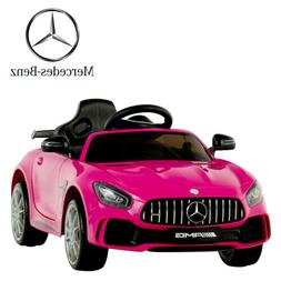 Electric Kids Ride On Car Mercedes Benz AMG GTR Motorized Ve