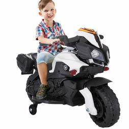 Electric Kids Ride On Motorcycle 6V Battery Powered Bicycle