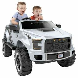 Electric Kids Ride On Toy Truck Power Wheels Ford F-150 Rapt