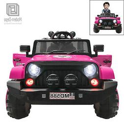 Electric Ride On Car for Kids with Facelift Grille, 12V 2 Mo