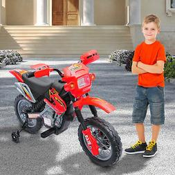 6V Electric Kid Ride on Car Dirt Bike Battery Motorcycle Toy