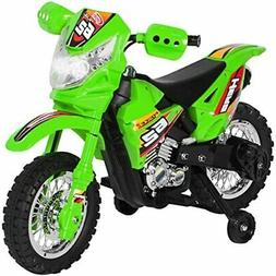 6V Electric Kids Ride On Motorcycle Dirt Bike W/ Training Wh