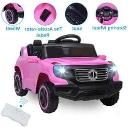 Electric Toys Girl Kid Ride On Car Truck Light with Remote C