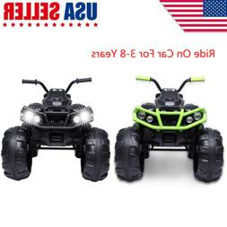 Electric Vehicle 12V Kids ATV Ride On Car Toys 2 Drive Speed