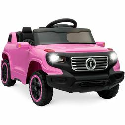 Electronic 6V Kids Ride On Car Truck w/ Parent Control 3 Spe