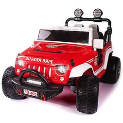 Explorer 2  Seater 12V Power Children Ride-On Car Truck with