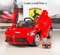 Ferrari 12V LaFerrari Kids Electric Ride On Car with MP3 and