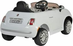 Best Ride On Cars Fiat 500 12V- with Remote Control  - Sport