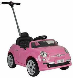 Best Ride On Cars Fiat 500 push car Pink Fiat 500 Pink Push