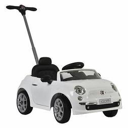Best Ride On Cars Fiat 500 push car White Fiat 500 White Pus