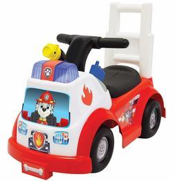 Paw Patrol Fire Engine Truck Kids Ride On Toy Dog Marshall V