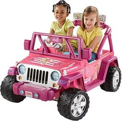 Fisher-Price Power Wheels Barbie Deluxe Jammin Jeep Wrangler
