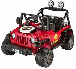 ​Fisher-Price Power Wheels BBQ Fun Jeep Wrangler 12V batte