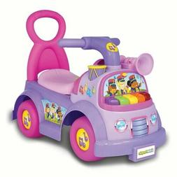 Fisher Price Little People Music Purple Parade Ride On Light