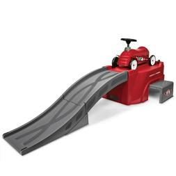 Radio Flyer, Flyer 500 Ride-On with 6 ft Ramp and Car, easy